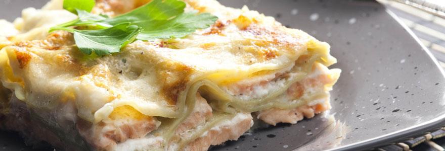 Lasagnes aux saumons