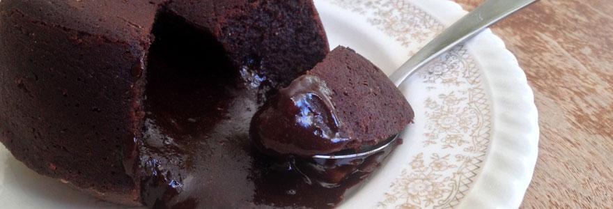 Mi-cuit au chocolat