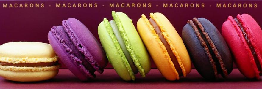Macarons en cadeau